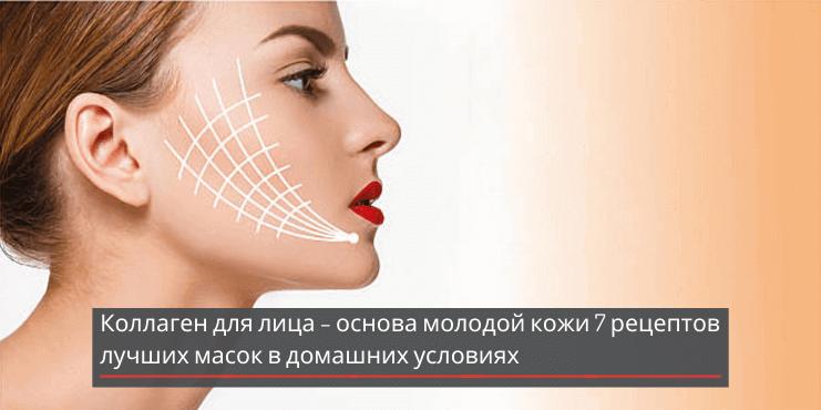 Коллаген для лица – основа молодой кожи: 7 рецептов лучших масок в домашних условиях