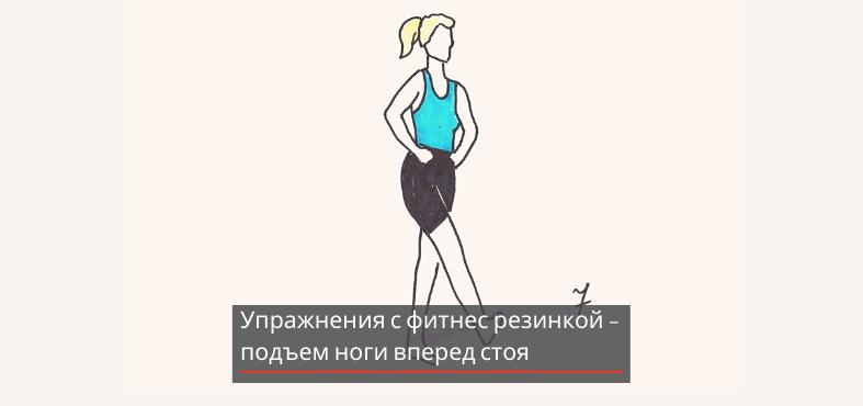 подъем ноги вверх для похудения